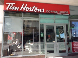 Tim Hortons on Queens Quay